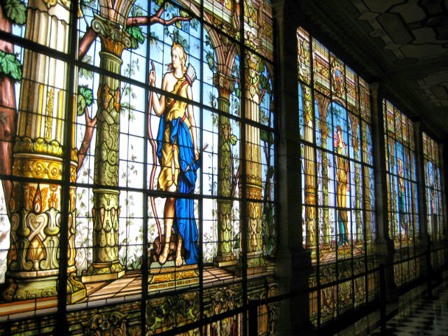 Castillo de Chapultepec Stained Glass