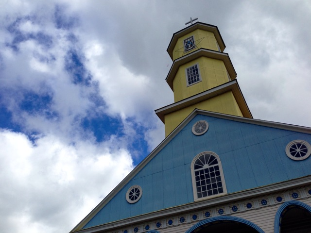 Church on Chiloe