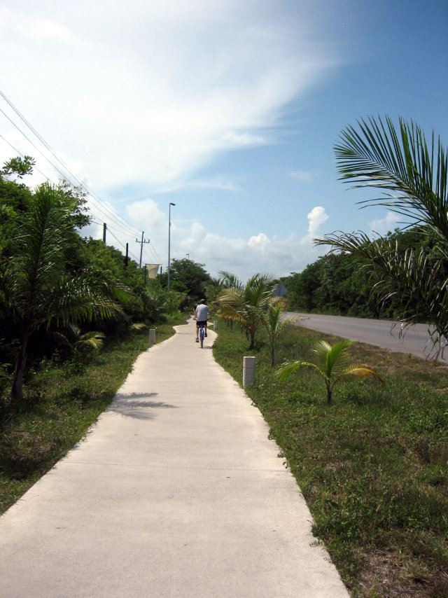 Bike Path Tulum