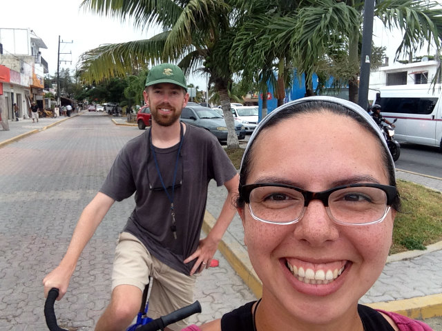 Bike riding Tulum