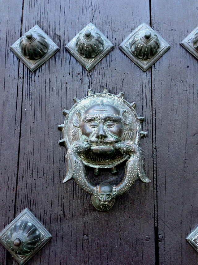 Cathedral door knocker