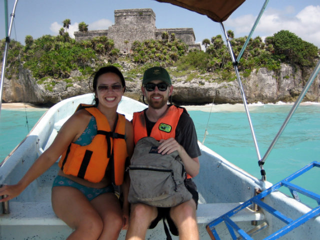 Tamara and Chris Tulum Boat